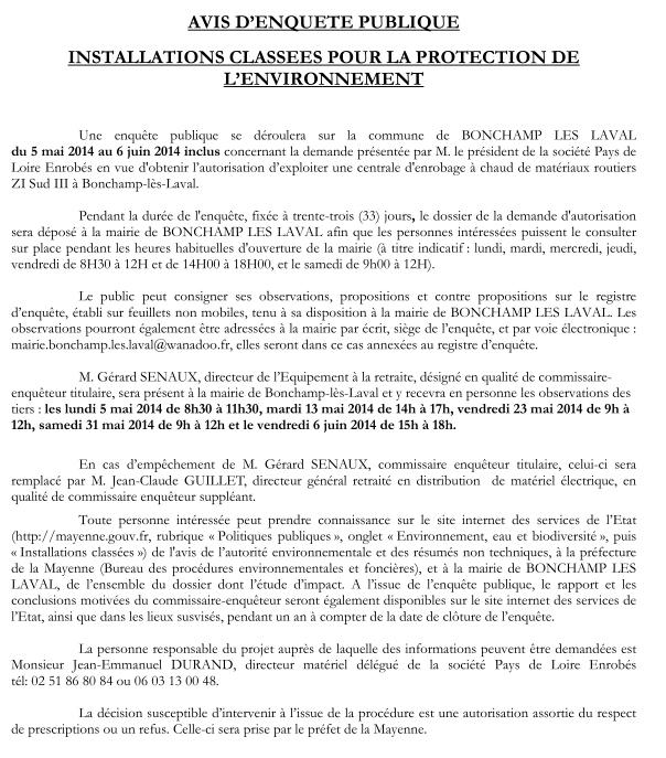 Le point sur la Société Pays de la Loire Enrobés (Eurovia)