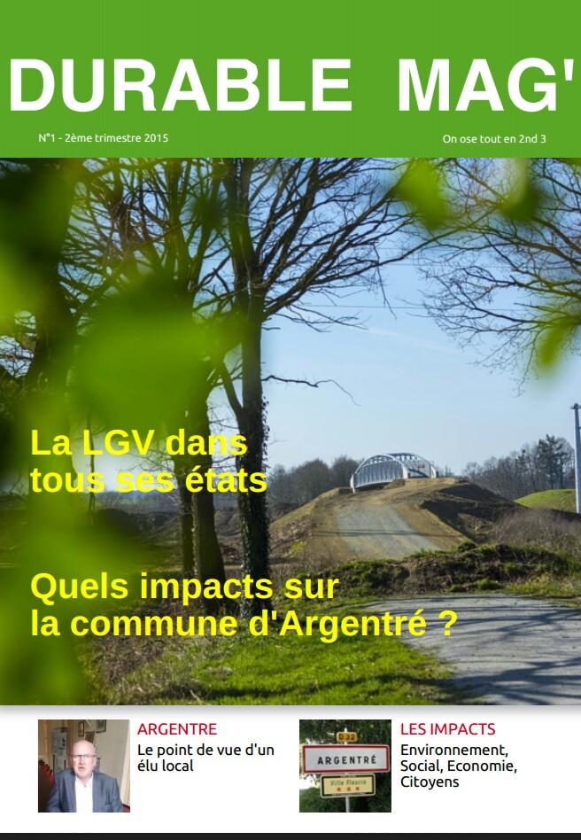 La LGV et ses impacts sur la commune d'Argentré