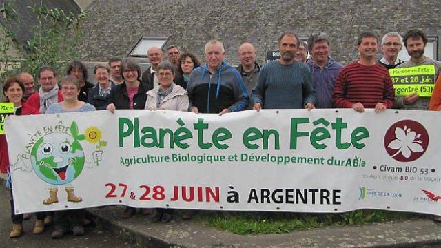 Planete en Fête 2015 - Argentré - 27 et 28 juin 2015