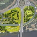 Nouvelle route sous le pont de Pritz  : un aménagement à débattreavec tous les acteurs de l'agglomération lavalloise