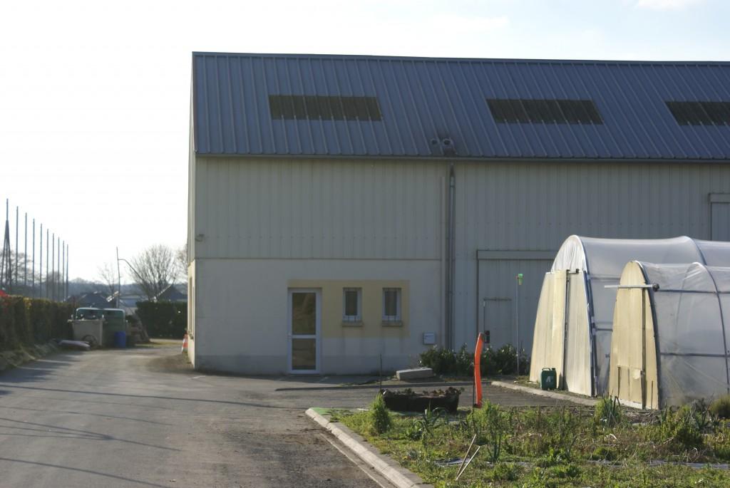 L'ancien bâtiment des services techniques sera remplacé à partir de l'automne.