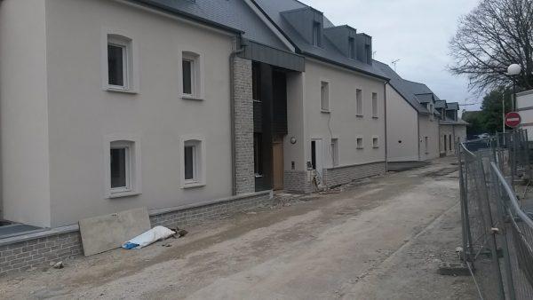 Des nouveaux logements dans le centre-ville