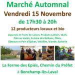 Marché d'automne du Court Circuit vendredi - Festival Alimenterre