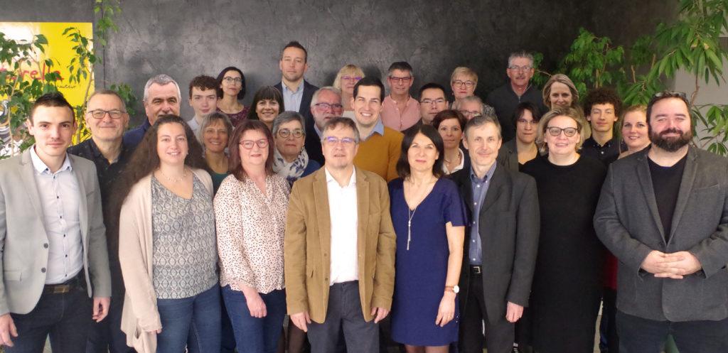 La liste Bonchamp Ensemble pour les municipales du 15 mars 2020