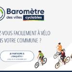 Répondez au Baromètre des villes cyclables